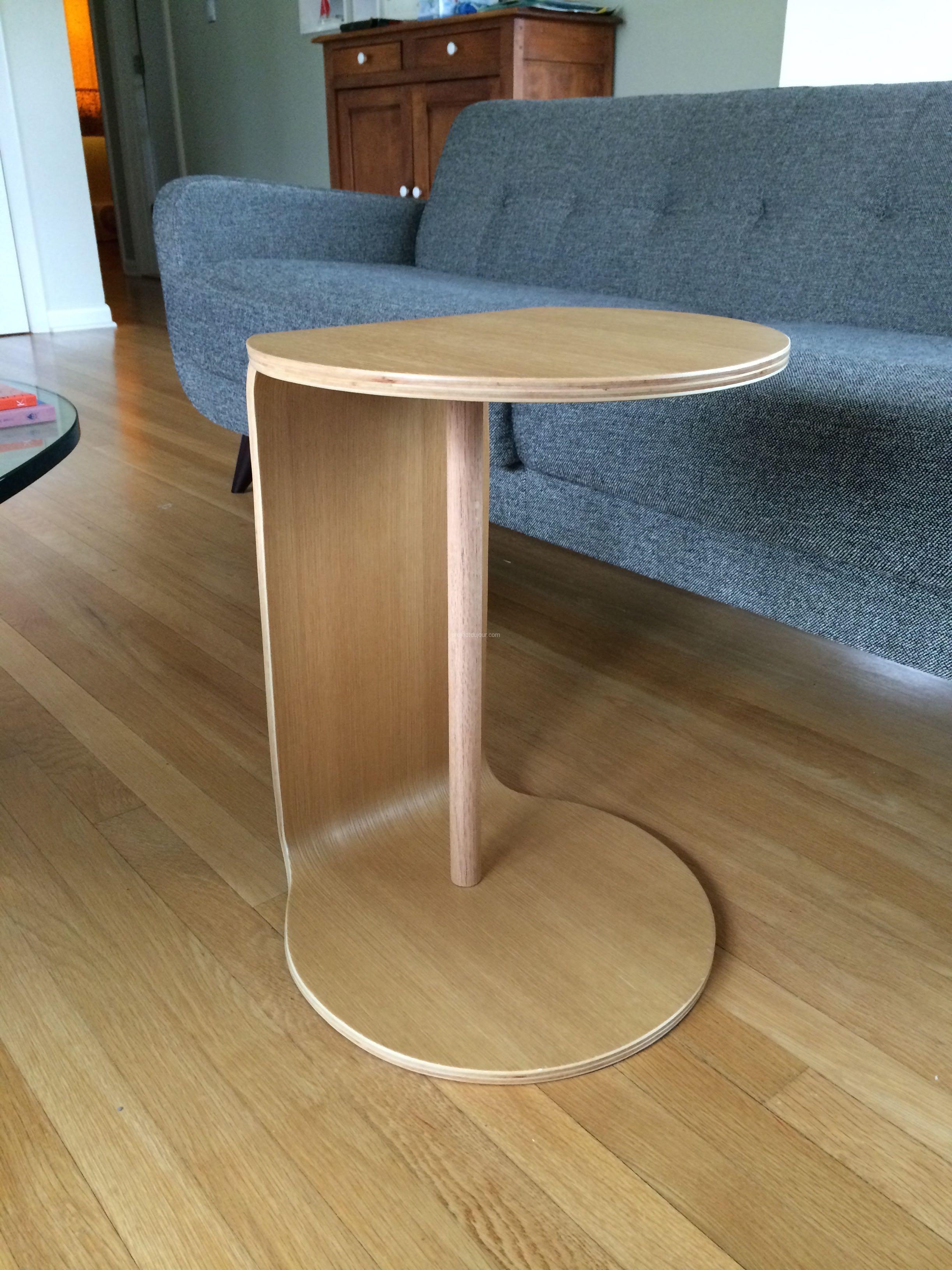Cb2 Slip C Table Fix Project Du Jour